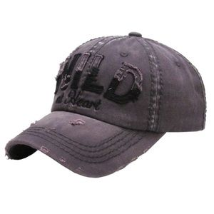 Wild At Heart Vintage Style Ball Cap